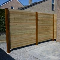Pose de clôture en bois et palissades